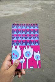 Pink Pattern Notebook